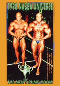 1998 NABBA Universe (50th Year) Men's Pump Room