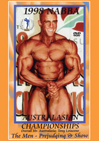 1998 NABBA AUSTRALASIA: THE MEN