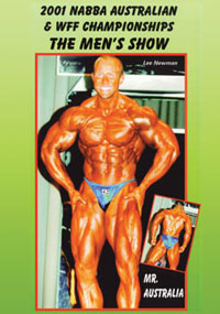 2001 NABBA Australian Championships: The Men's Show
