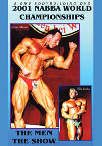 2001 NABBA World Championships: The Men - The Show