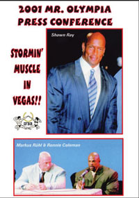 2001 Mr. Olympia Press Conference [PCB-439DVD]