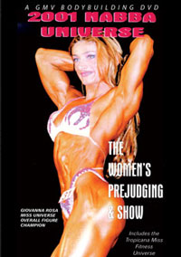 2001 NABBA Universe: The Women - Prejudging & Show