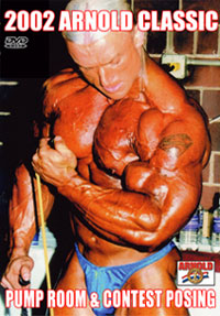 2002 Arnold Classic Pump Room and Contest Posing