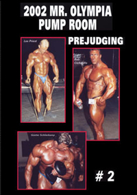 2002 Mr. Olympia Prejudging Pump Room # 2