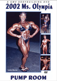 2002 Ms. Olympia Pump Room