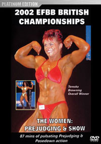 2002 EFBB British Championships: The Women - Prejudging & Show