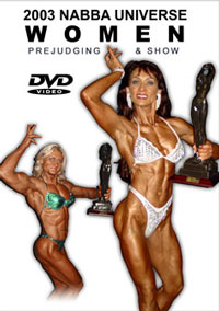 2003 NABBA Universe:The Women - Prejudging and Show