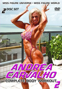 Andrea Carvalho - Complete Body Workout 2 - 2 DVD set