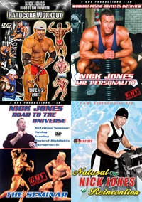 Nick Jones Awesome Foursome DVD Deal!