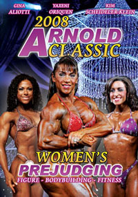 2008 Arnold Classic Complete Women\'s Prejudging