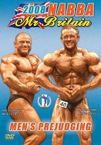 2008 NABBA Mr Britain: Men's Prejudging
