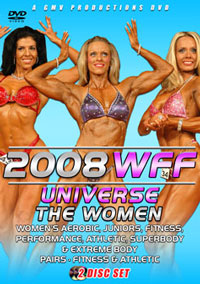 2008 WFF Universe - The Women 2 Disc Set [PCB-707DVD]