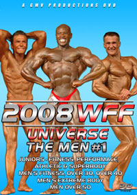 2008 WFF Universe - The Men #1 [PCB-708DVD]