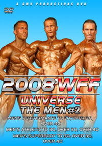 2008 WFF Universe - The Men #2 [PCB-709DVD]