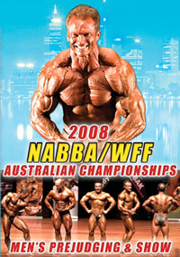 2008 NABBA/WFF AUSTRALIAN CHAMPIONSHIPS - THE MEN