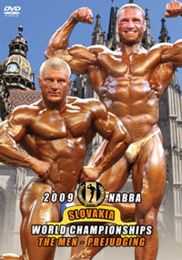 2009 NABBA World Championships: The Men\'s Prejudging