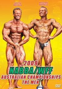 2009 NABBA/WFF Australian Championships The Men