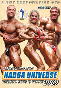 2009 NABBA Universe Triple Pack 3 Disc Set Men & Women Special Deal
