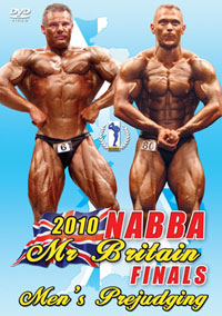 2010 NABBA Britain Finals: The Men's Prejudging