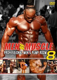 Men of Muscle # 8 - Pro Pump Room [PCB-797DVD]