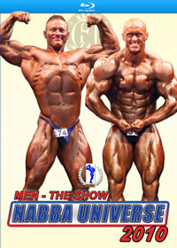 2010 NABBA Universe: Men - The Show on Blu-ray