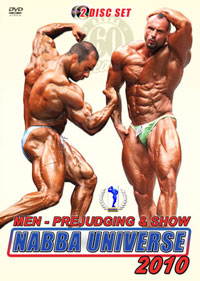 2010 NABBA Universe: The Men Prejudging & Show