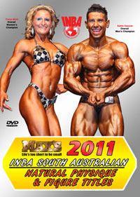 2011 INBA SA Natural Physique & Figure Titles