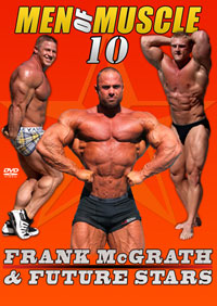Men Of Muscle # 10 - Frank McGrath & Future Bodybuilding Stars [PCB-845DVD]