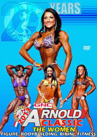 2013 IFBB Arnold Classic - The Women