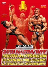 2013 NABBA/WFF SA Bodybuilding Figure & Fitness Championships [PCB-856DVD]