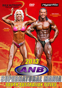 2013 ANB Supernatural Mania SA Bodybuilding Titles