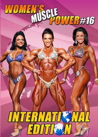 Women\'s Muscle Power #16 - International Edition [PCB-863DVD]