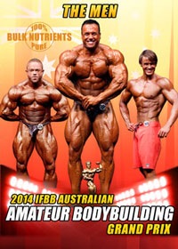 2014 IFBB Australian Amateur Bodybuilding Grand Prix - The Men