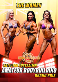 2014 IFBB Australian Amateur Bodybuilding Grand Prix - Women