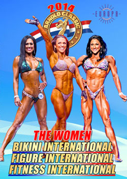 2014 IFBB Arnold Classic - Women [PCB-873DVD]