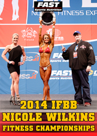 2014 IFBB Nicole Wilkins Fitness Championships [PCB-888DVD]