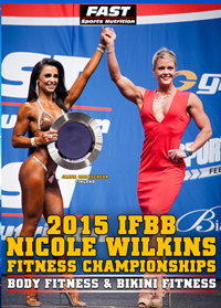 2015 IFBB Nicole Wilkins Fitness Championships [PCB-909DVD]