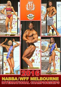 2016 NABBA/WFF Melbourne International Championships [PCB-926DVD]