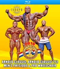 2016 Arnold Classic Pro Men on Blu-ray