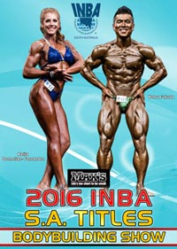 2016 INBA SA Titles - Bodybuilding Show
