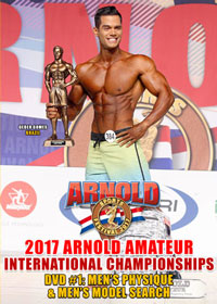 2017 Arnold Amateur USA International Championships DVD # 1