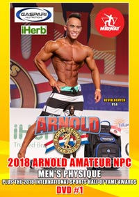 2018 Arnold Amateur NPC Men\'s Physique - Men\'s DVD #1