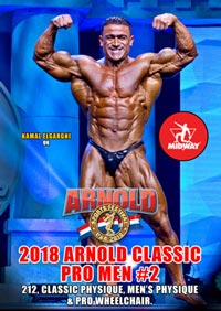 2018 Arnold Classic Pro Men 2: 212, Classic Physique, Men's Physique and Pro Wheelchair