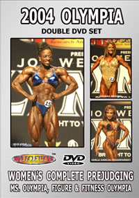 2004 Olympia Women's Complete Prejudging