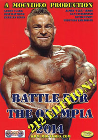 Battle For The Olympia 2014 - 212lb Edition [PCB-1448DVD]