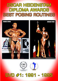 OHF Diploma Awards - Best Posing Routines: DVD # 1: 1991-1995