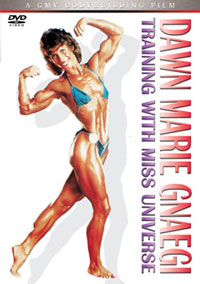 Dawn Marie Gnaegi - Training with Miss Universe