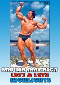 1971 and 1973 AAU Mr America: Highlights [PCB-107DVD]