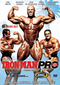 2008 Iron Man Pro - 2 Disc Set