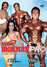 2009 Iron Man Pro Pump Room